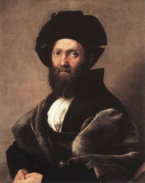 Портрет Бальдассаре Кастильоне 1515 года