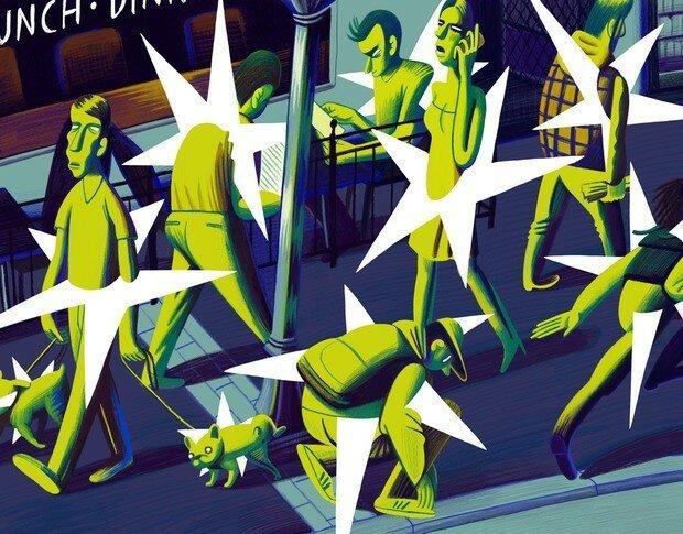 Наталья Метлух: веселые иллюстрации для журналов