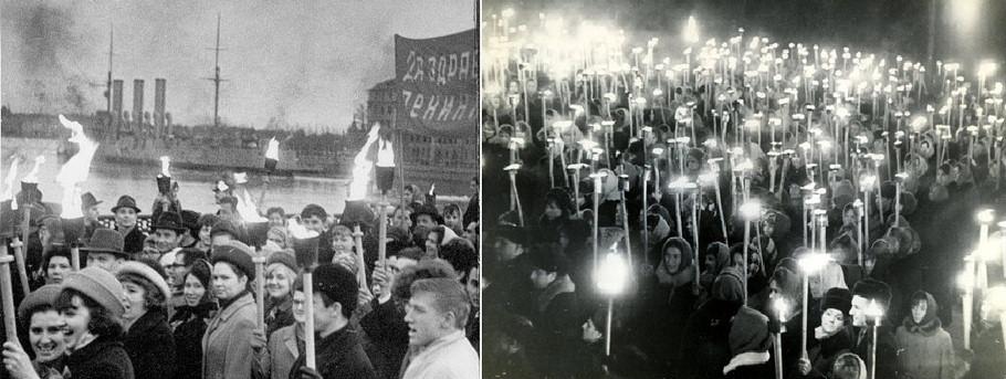 Ужасные фошицкие факельные шествия