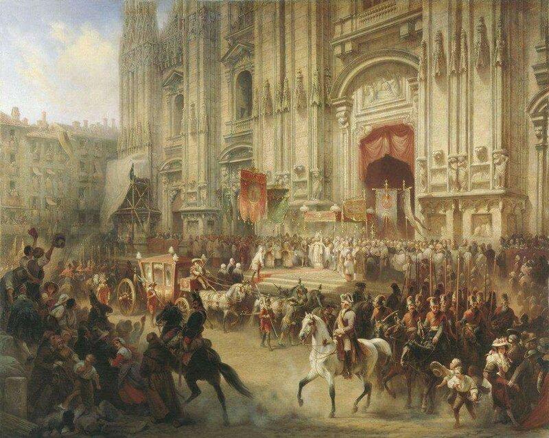 """Шарлемань А.И. """"Торжественная встреча А.В.Суворова в Милане в апреле 1799 года"""""""
