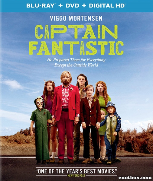 Капитан Фантастик / Captain Fantastic (2016/BDRip/HDRip)