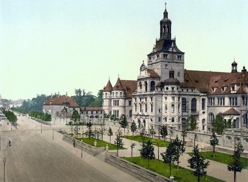 Баварский Национальный музей, конец XIX века
