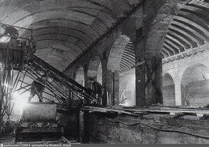 1954 -1955 Строительство станции метро Технологический институт.jpg