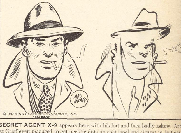 Des illustrateurs des annees 40 tentent de dessiner leurs personnages les yeux bandes (11 pics)