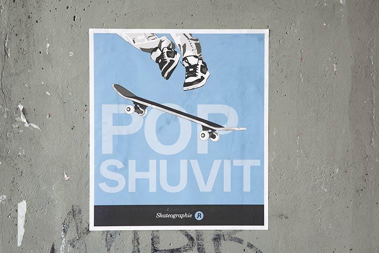 Skateographie - Les tricks de skate celebres illustres par John Rebaud