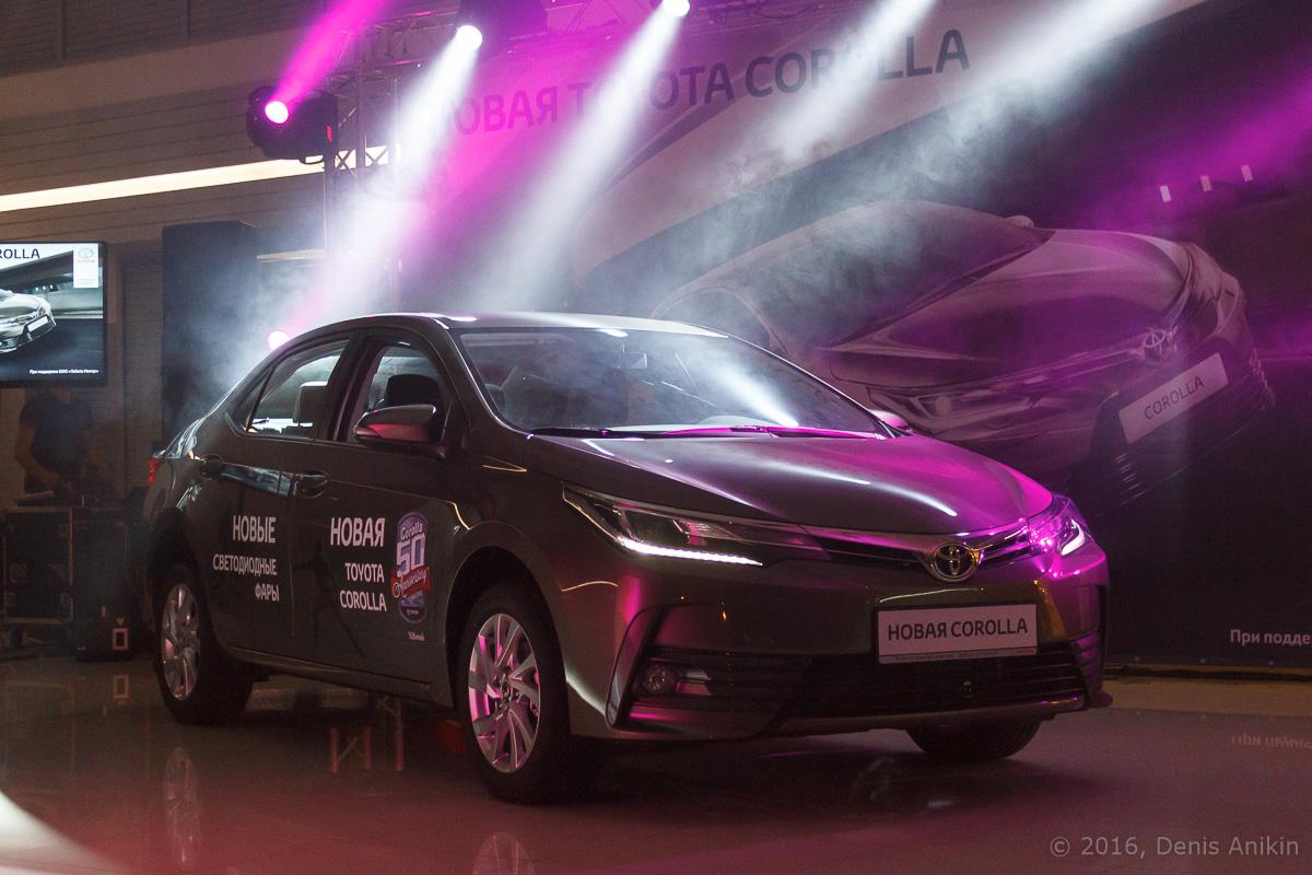 Презентация Toyota Corolla 14