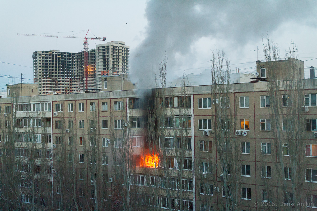 Саратов пожар бахметьевская фото 1