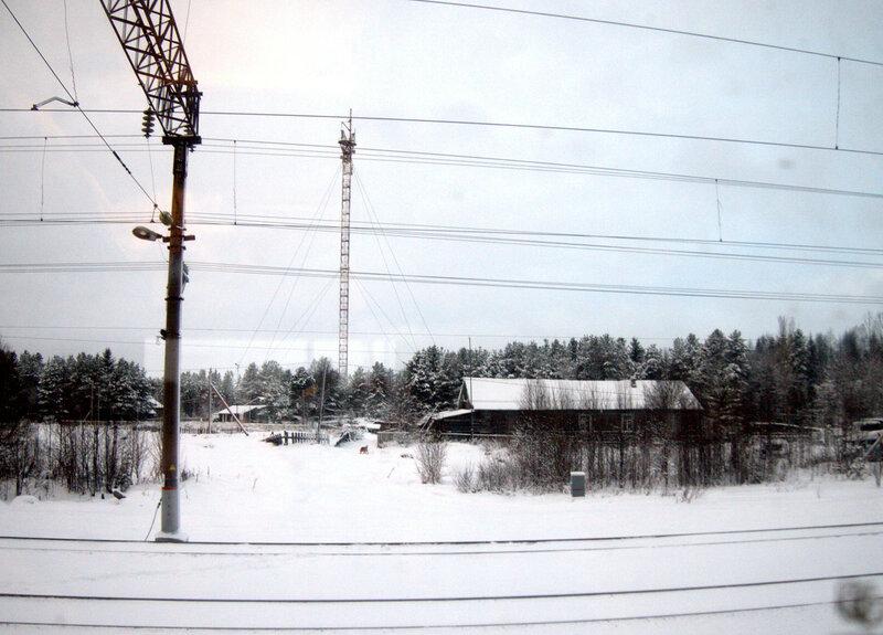 железная дорога, Энгозеро