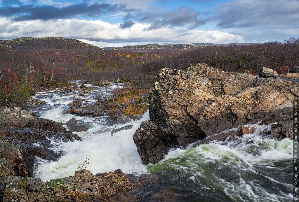 Водопад БТР на Юринге