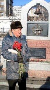 Союз моряков-подводников Тихоокеанского флота поздравляет Николая Кузьмича Давыдченко со славным 80-летним юбилеем