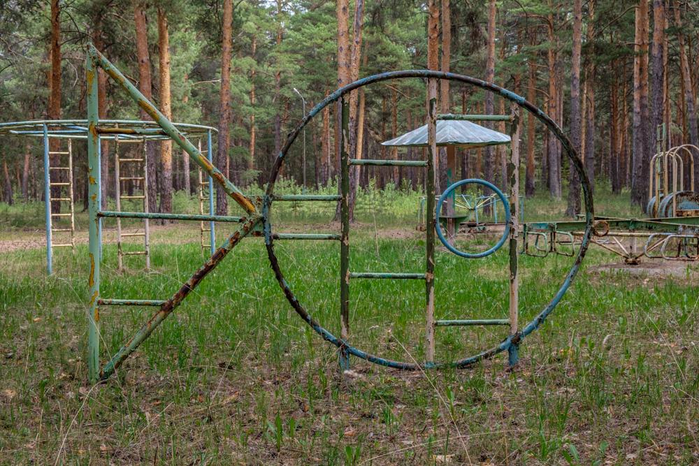 детские городки из СССР