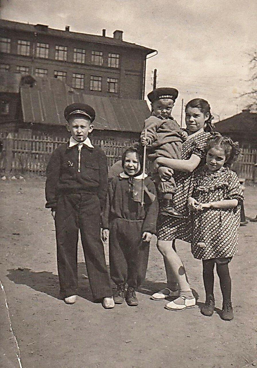 1950-е. 4 проезд Марьиной рощи (личный архив Фоминой)