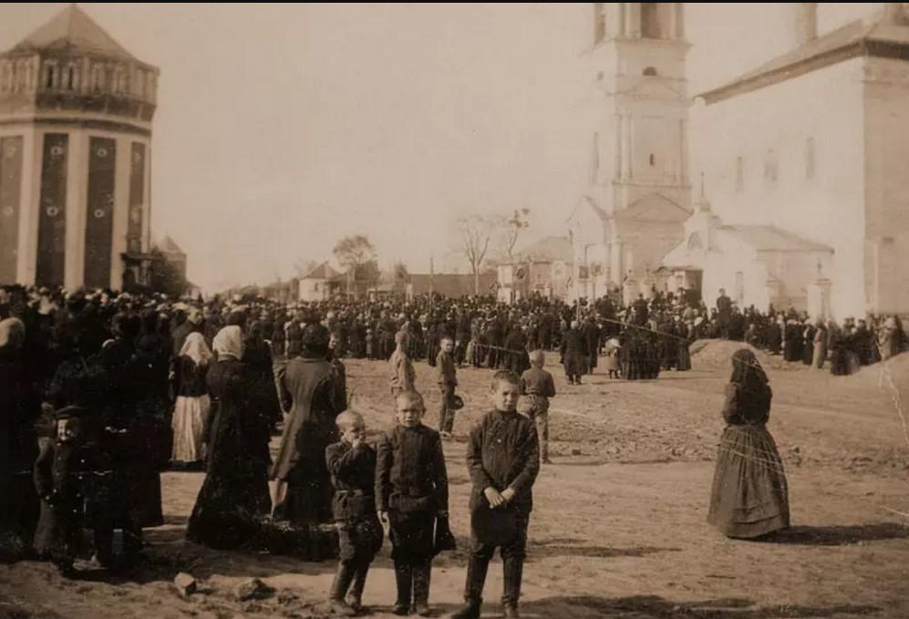 Крестный ход. 1913
