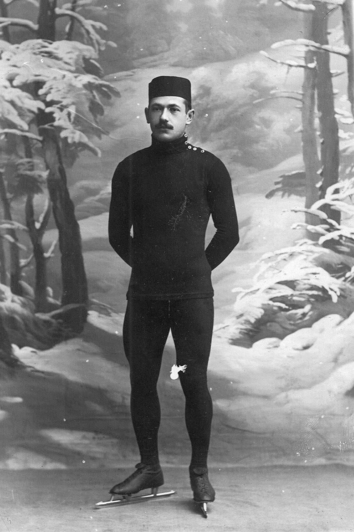 Н.В.Струнников, чемпион мира по бегу на коньках. 1910-1911