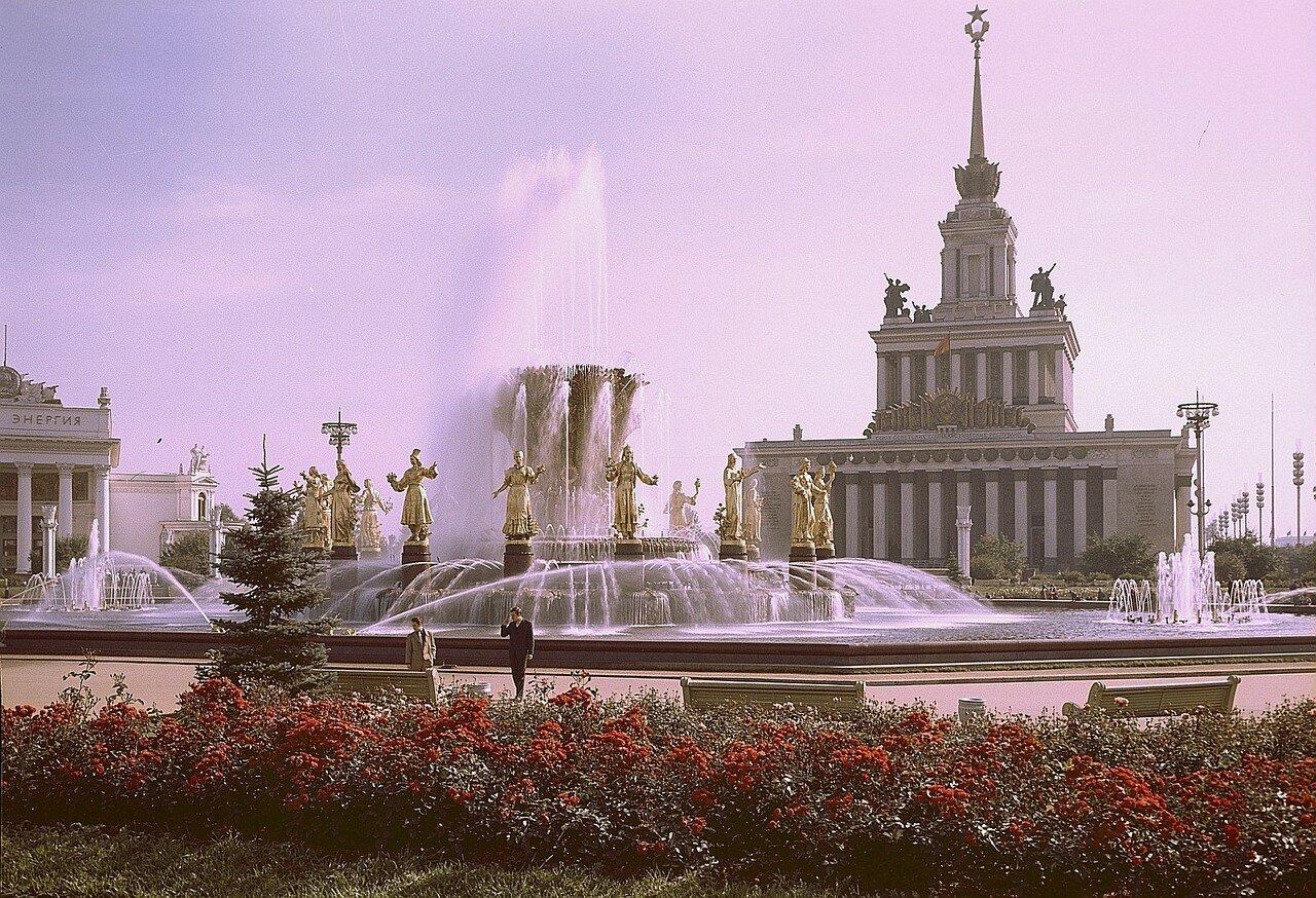 1965. Рихард Петер в Москве