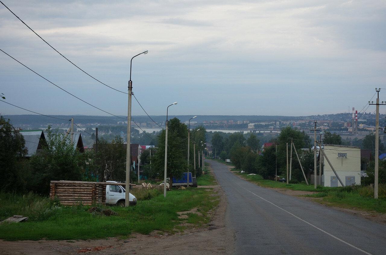 вид на город с юга