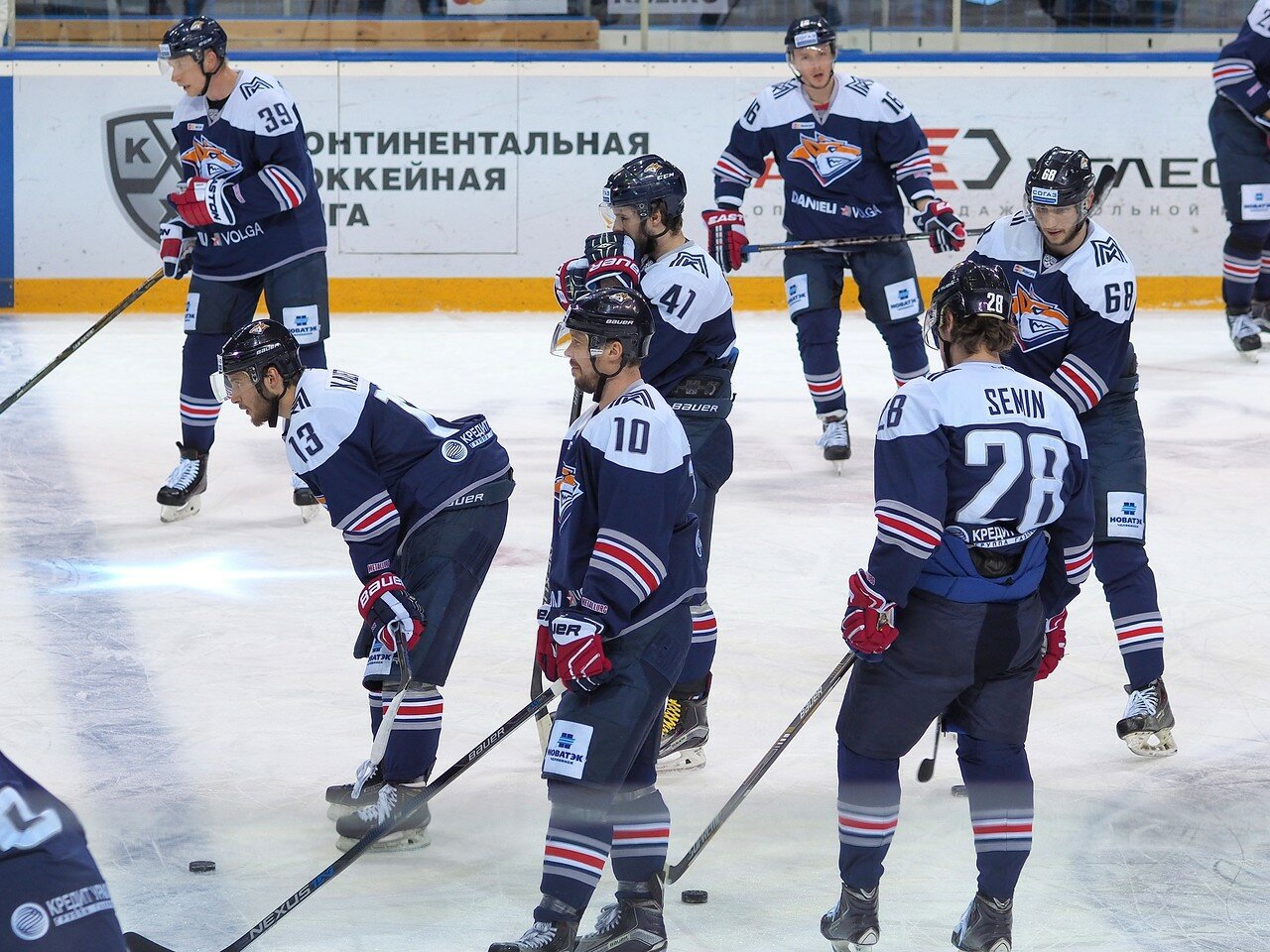 20Плей-офф 2016 Восток Финал Металлург - Салават Юлаев 31.03.2016