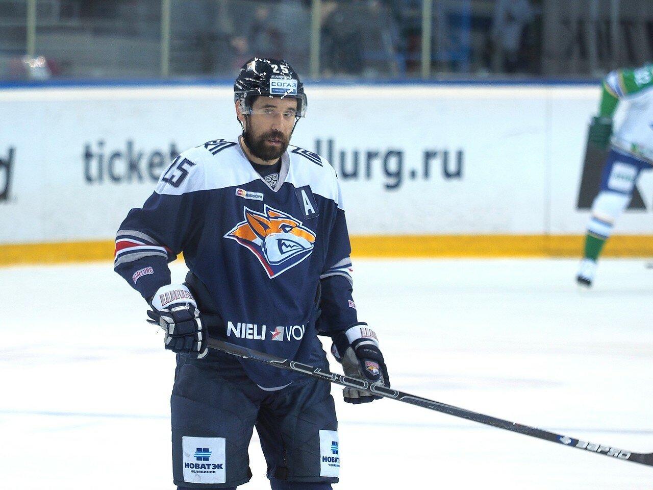 27Плей-офф 2016 Восток Финал Металлург - Салават Юлаев 31.03.2016