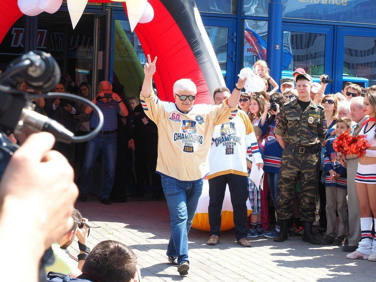 86Церемония чествования команды Металлург27.05.2016