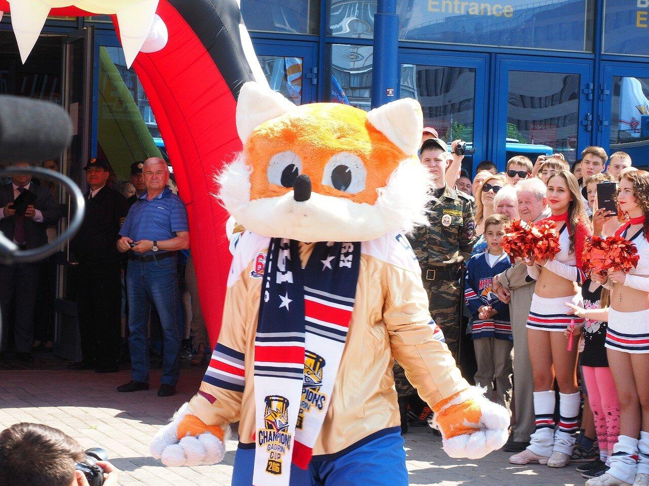 88Церемония чествования команды Металлург27.05.2016