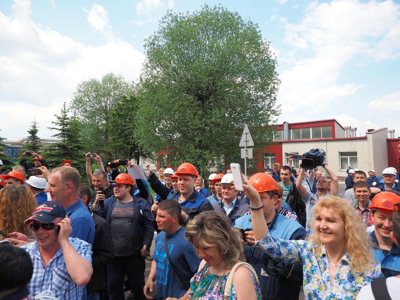156Церемония чествования команды Металлург27.05.2016