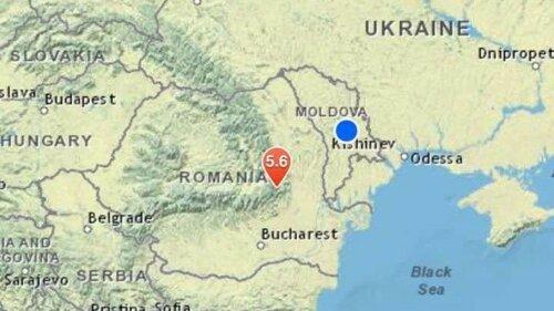 Как ощущалось землетрясение минувшей ночью в Молдове