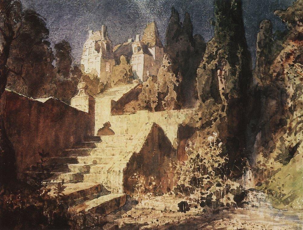 Лестница к замку. 1882-1883.jpg