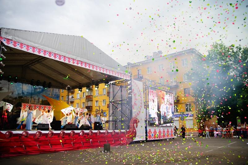 Празднование 881-летия Твери завершилось 10-минутным фейерверком