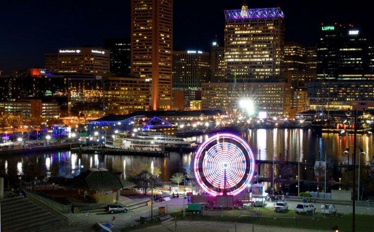 Light City: фотографии красочного фестиваля огней в Балтиморе 0 22c121 23ff9029 XL