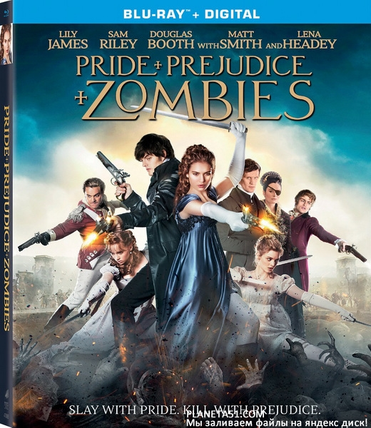 Гордость и предубеждение и зомби / Pride and Prejudice and Zombies (2016/BDRip/HDRip)