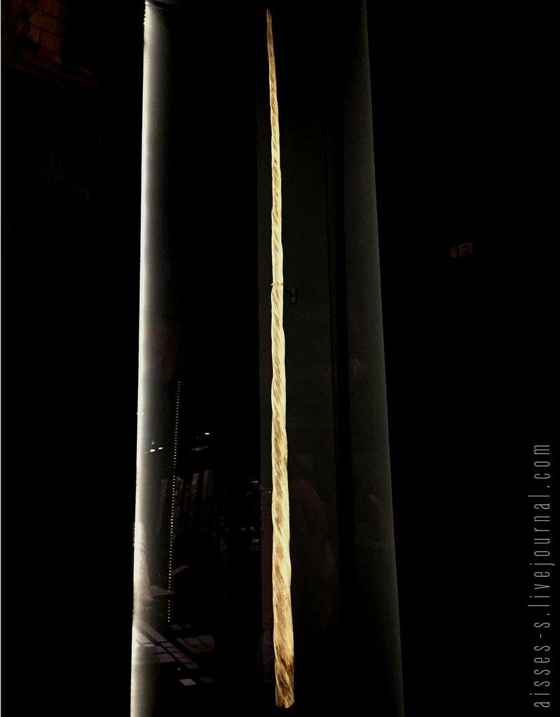 Dent de Narval, dite Corne de licorne, Musée de Cluny, Paris