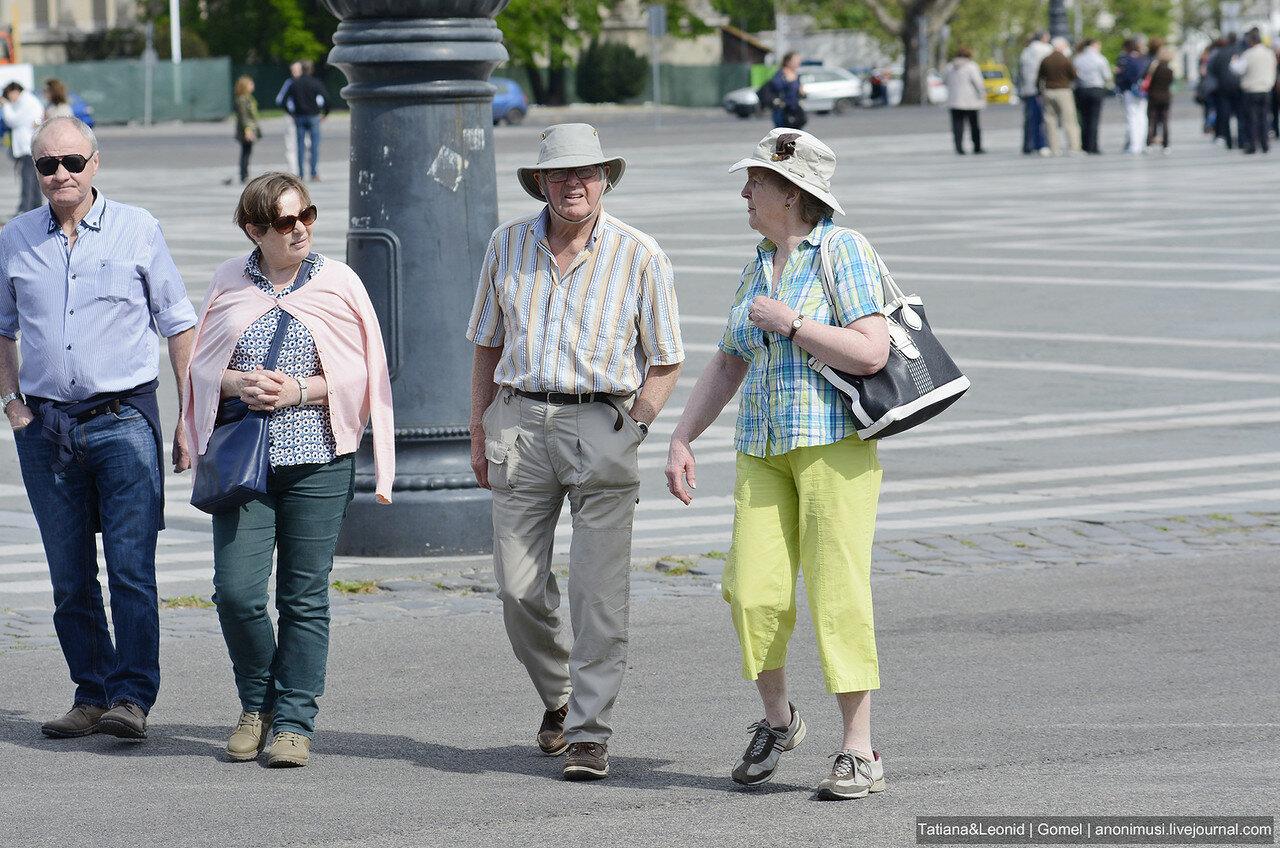 Люди Будапешта