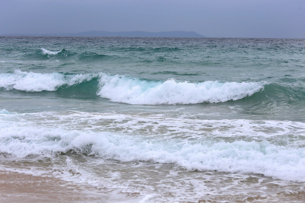 Тарифа. Пляж Лос-Ланхес-Сюр (Playa de Los Lances Sur)