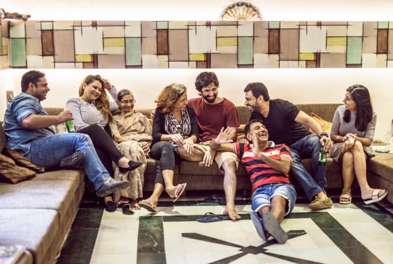 «Универсальные семьи» фотографа Michele Crowe (24 фото)