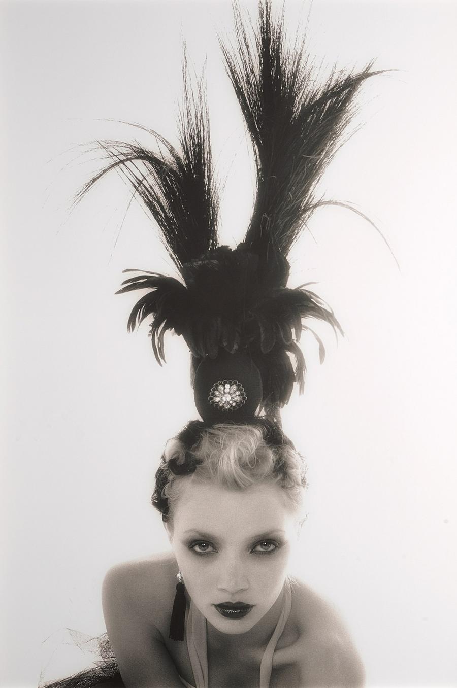 3. Джоди Кидд, Лондон, 2002/2003. Автор: российский модный и портретный фотограф Олег Михеев. Это оч