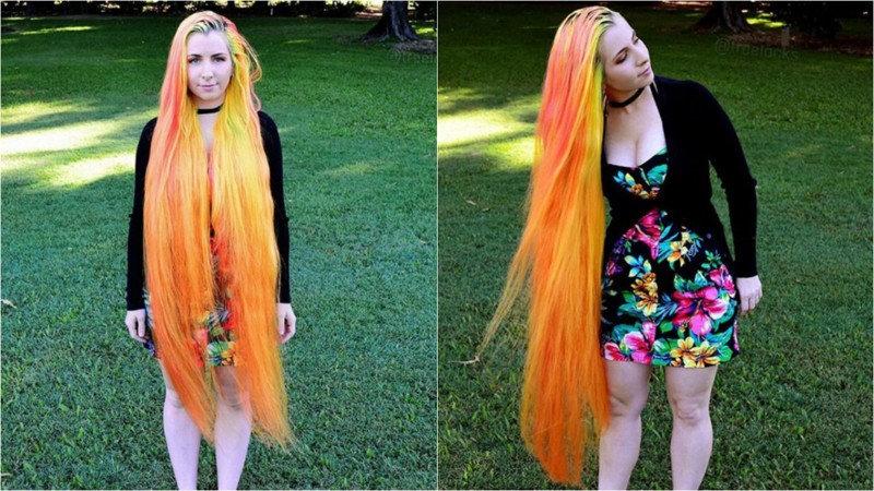 Как говорит Триша, страсть к длинным волосам она унаследовала от матери — та тоже не жаловала парикм