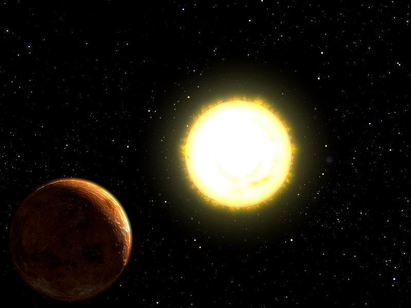 Учёные представили тепловую карту загадочной суперземли 55 Cancri e
