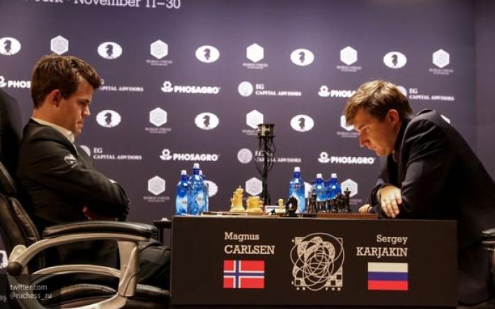 Карлсен победил Карякина в10-й партии
