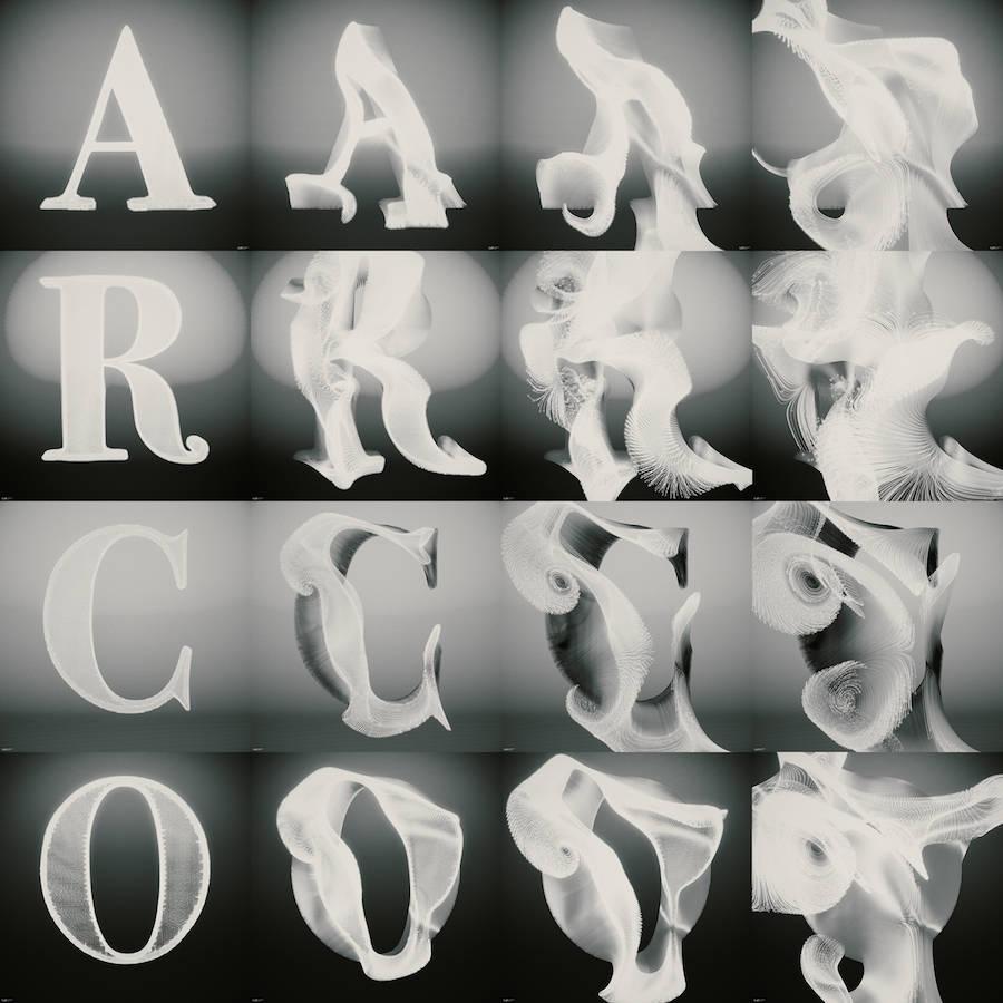 Amazing Digital Typography Project
