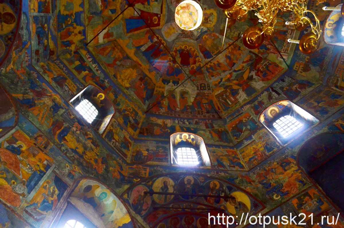 Церковь Усекновения главы Иоанна Предтечи в Рощенье