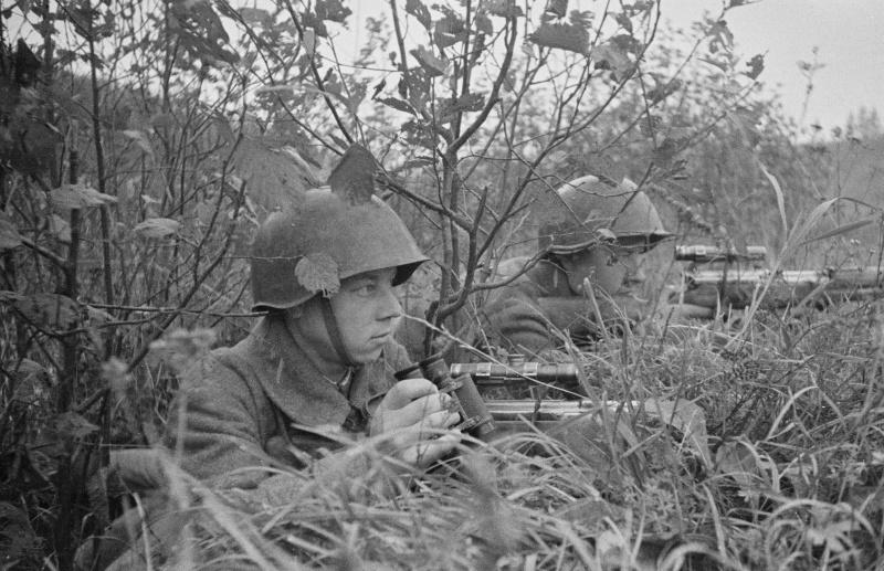 Советские снайперы ведут наблюдение.jpg