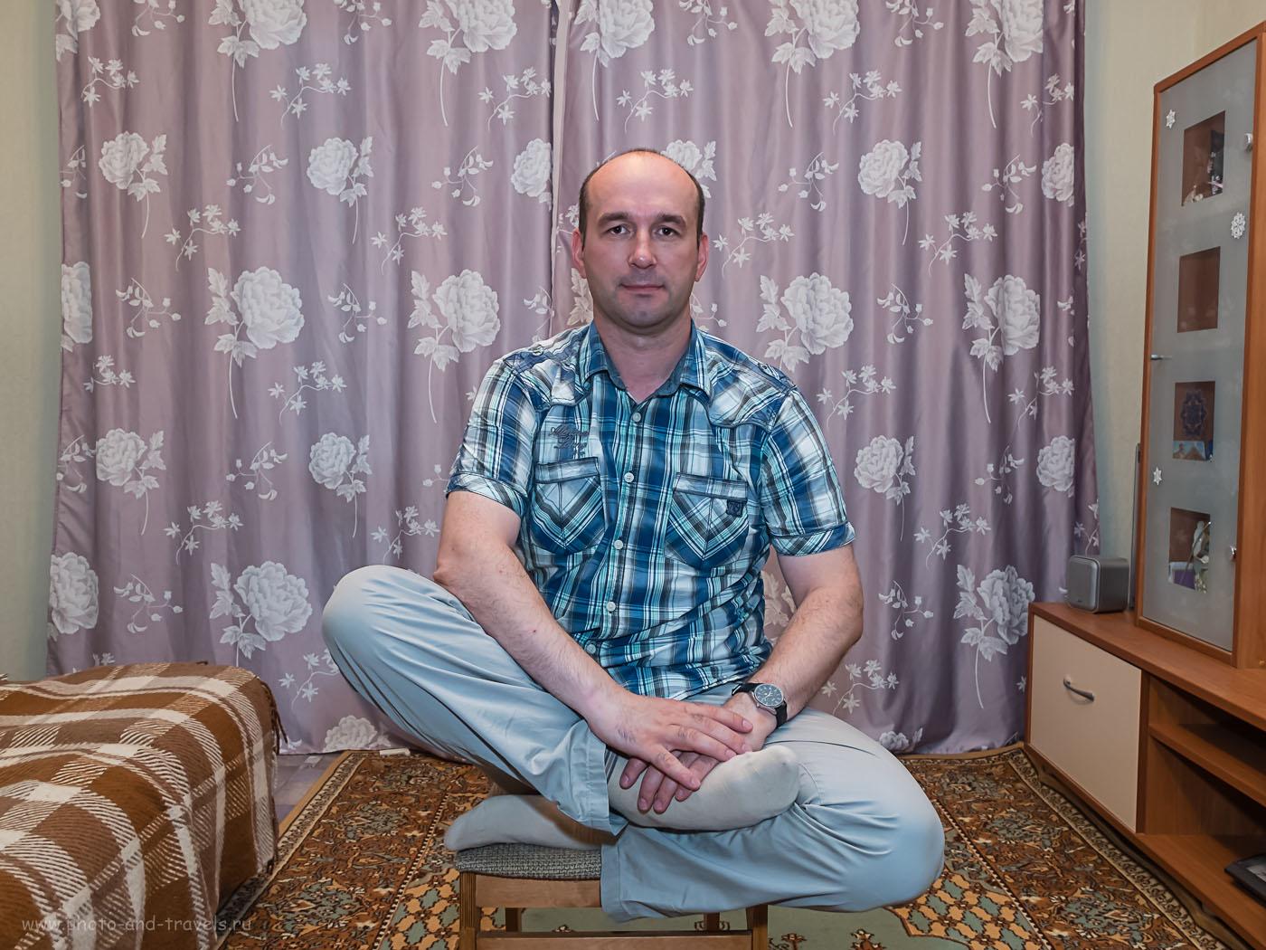 Фотография 30. Примеры съемки портрета на камеру Фуджи Х30 и вспышку Фуджифильм EF-42. Параметры: 1/30, -0.33, 2.5, 200, 7.9.