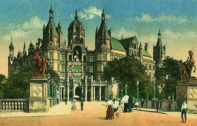 Шверинский замок в 1910 году