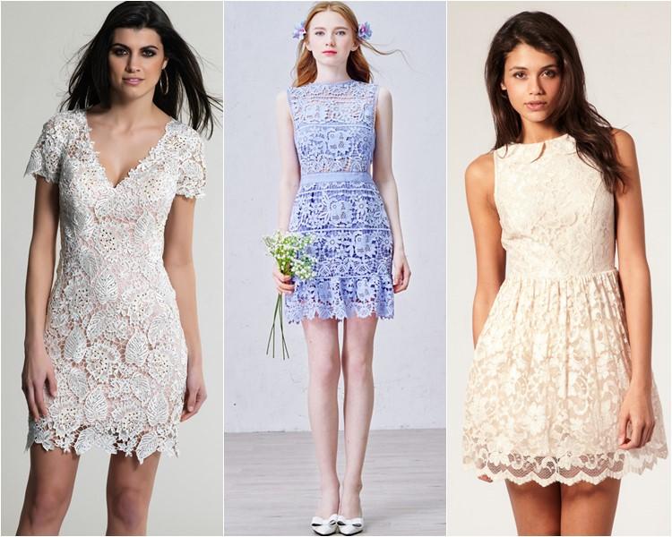 Модные короткие платья 2016 фото 7
