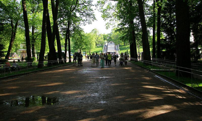 Фонтаны-Шутихи Нижнего парка Петродворца