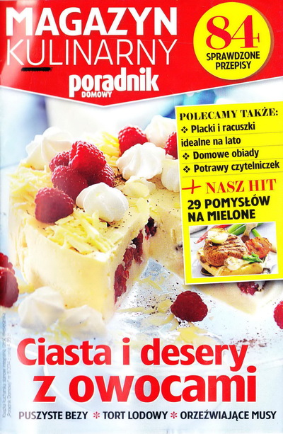 Magazyn Kulinarny Ciasta I Desery Z Owocami 08 2014pdf
