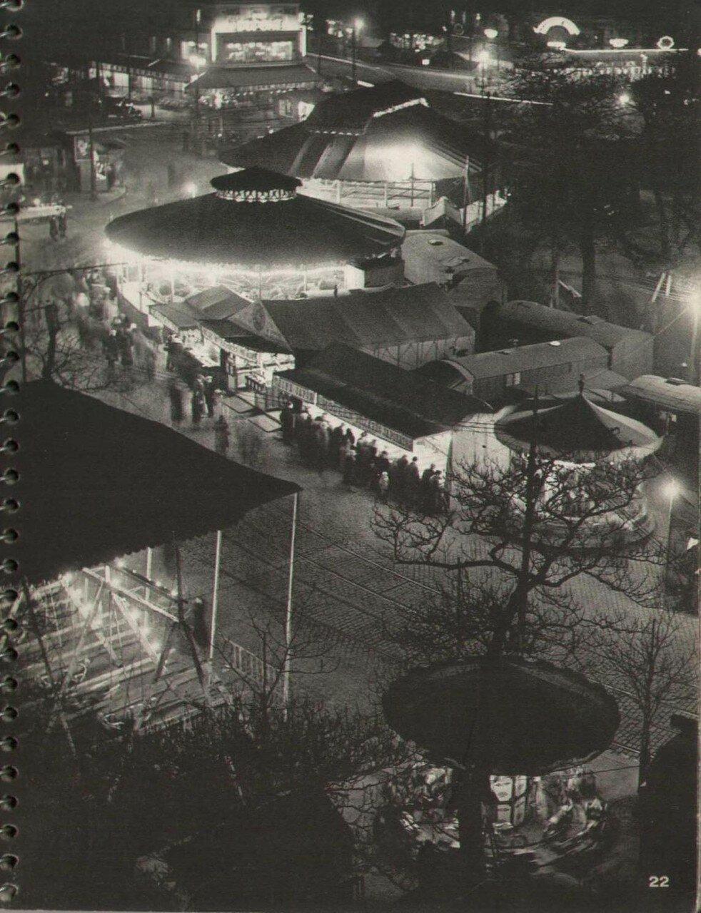 1933. Париж ночью