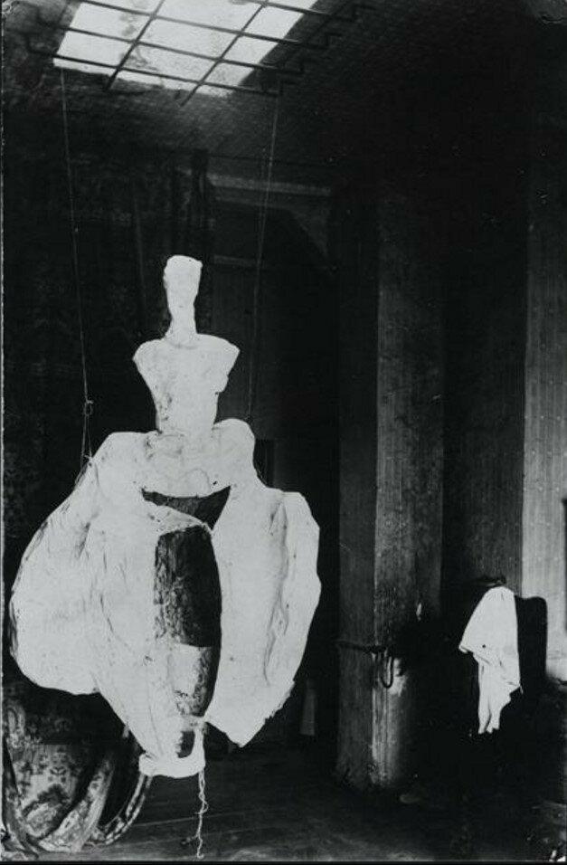 1922. Платье для бала, сделанное в Берлине