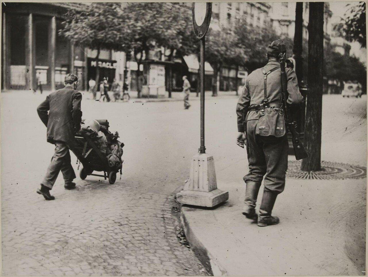 18 августа. Отъезд немцев из Парижа