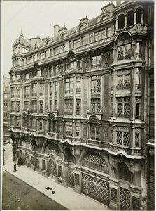 1918. Дом на углу улицы Дантона и площади Сент-Андре-дез-Арю 16 апреля